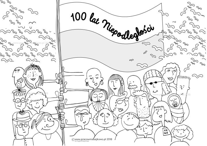 100 lat niepodległosci_kolorowanka-02-02